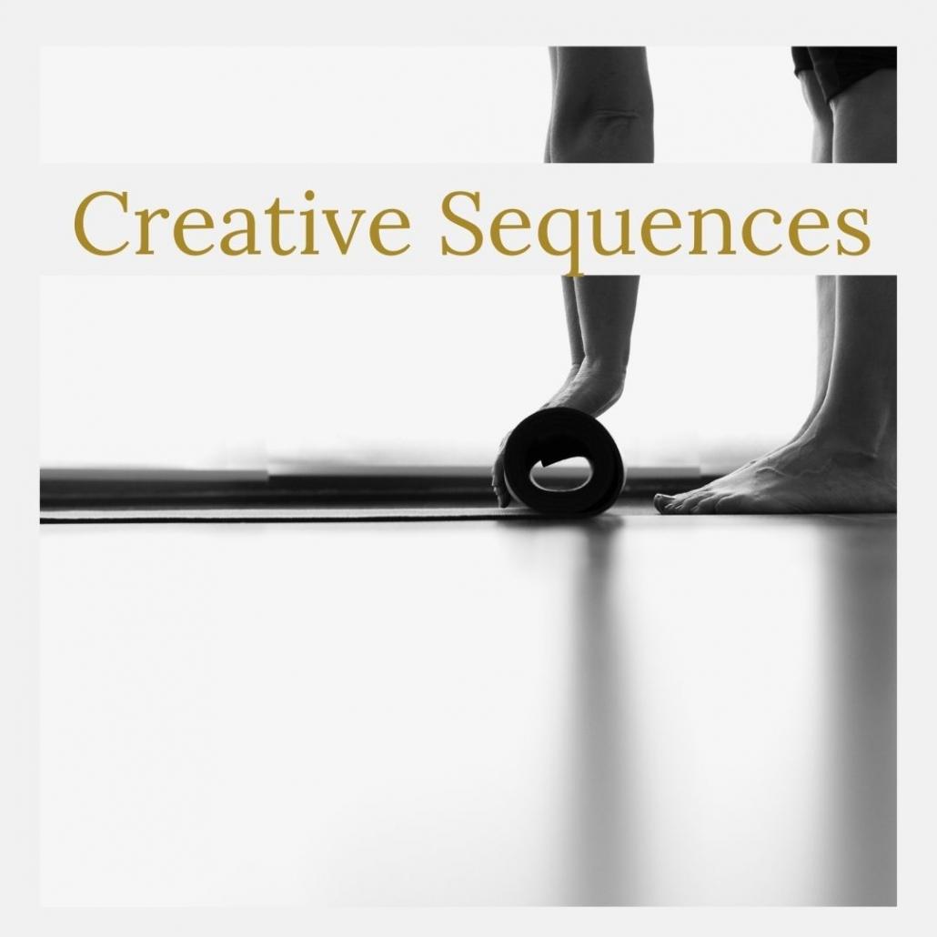 yin yoga creative sequences