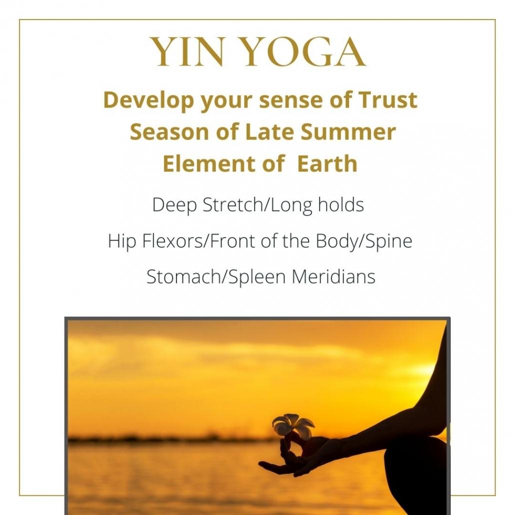 youtube yin yoga class earth element