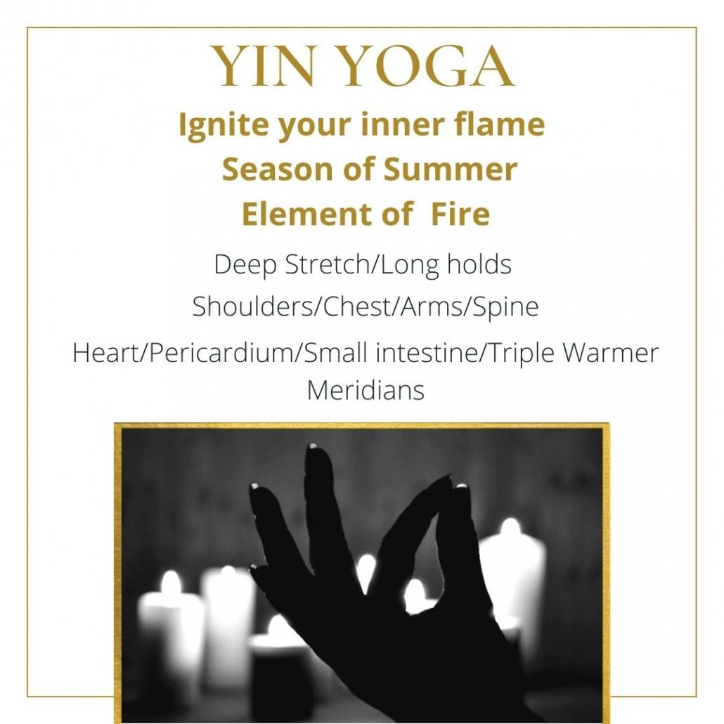 youtube yin yoga class fire element