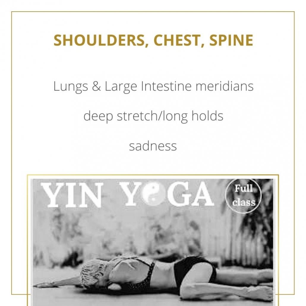 youtube yin yoga class shoulders upper body