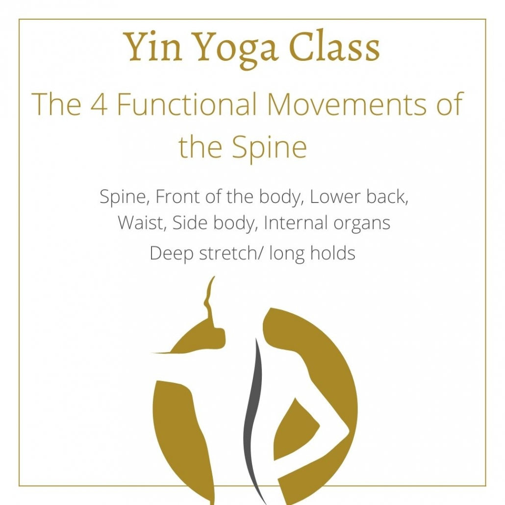 YIN YOGA CLASS FOR THE SPINE