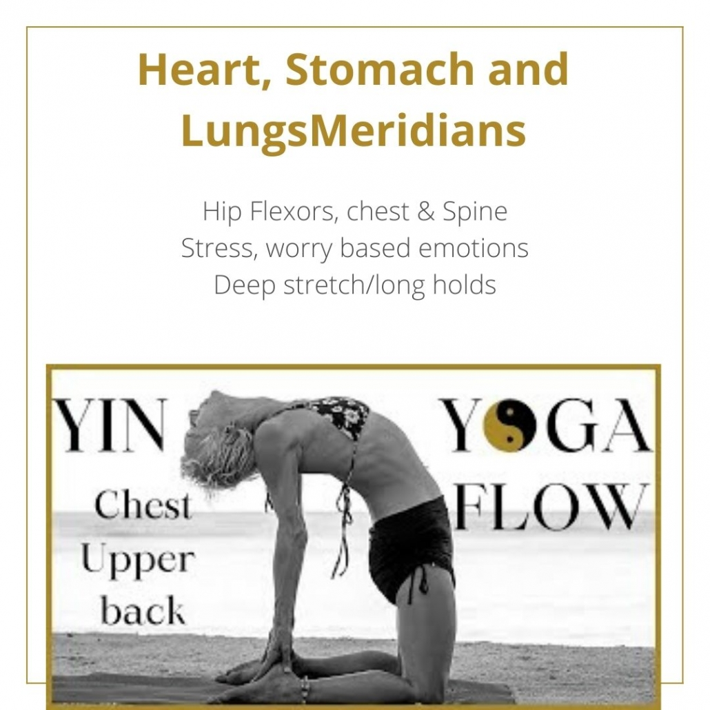 yin yoga for the meridians